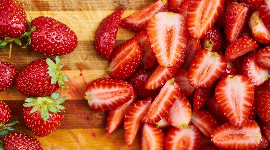 Nízkokalorická potravina - jahody
